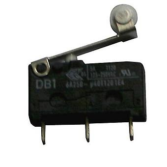 ZF Microswitch DB1C-C1RB 250 V AC 6 A 1 x On/(On) momentary 1 pc(s)