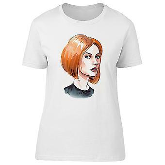 Bella moda donna t-shirt donna-immagine di Shutterstock