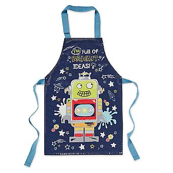 Cooksmart Kids PVC Apron, Robot