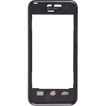 OEM Samsung SPH-M800 Instinct assemblaggio caso anteriore - nero