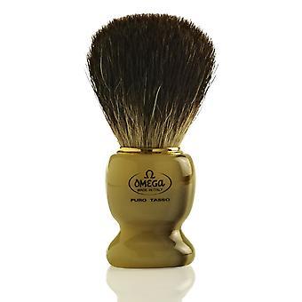 Omega 63171 Pure Badger hår barberkost