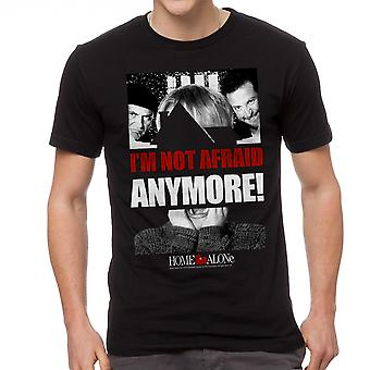 Home Alone I'm Not Afraid Anymore Quote Men's Black T-shirt