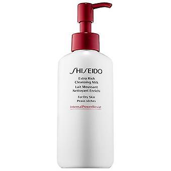 Shiseido Extra Rich Cleansing Milk Dry Skin 4.2oz / 125ml