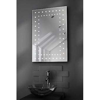 K43 Orion LED łazienka Mirror z kropli Pad & czujnik