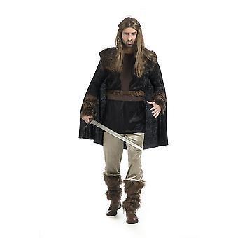 Wikinger Niels Herren Kostüm Barbar Normanne Herrenkostüm
