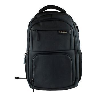 15,6-calowy plecak na laptopa / port USB, duża pojemność - czarny
