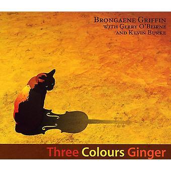 Brongaene Griffin - Three Colours Ginger [CD] USA import