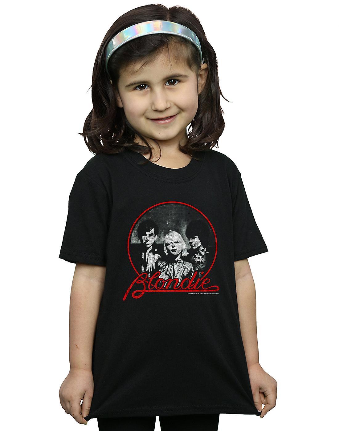 Blondie Girls Distressed Circle T-Shirt