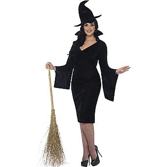 Curves Witch Costume, UK 28-30