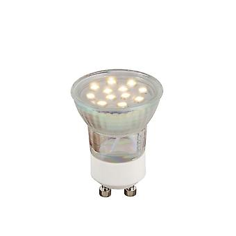 Lucide LED Gu10 cristal transparente LED bombilla