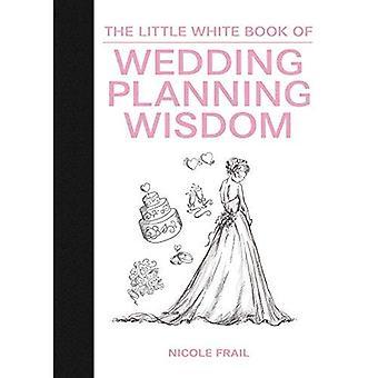 Den lilla vita boken bröllop planering visdom