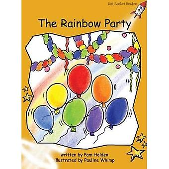 Rainbow partiet: Nivå 4: flyt (röd raket läsare: Fiction uppsättning A)