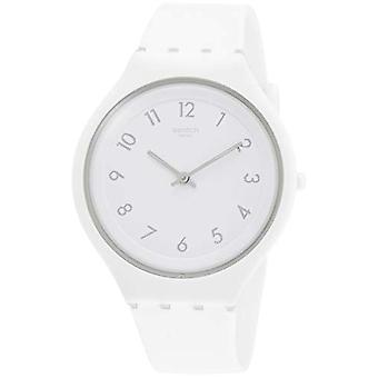 Swatch damer kvarts analog klocka med silikon rem SVUW101
