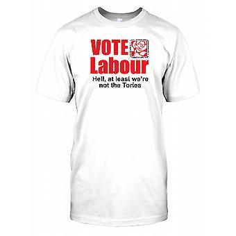 Voto do trabalho - pelo menos não eram os Tories Mens T-Shirt