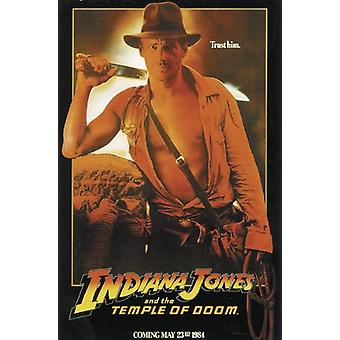 Indiana Jones Poster Temple Of Doom-advance