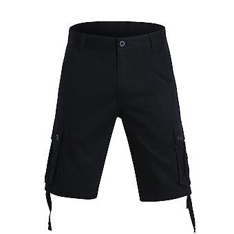 Allthemen heren korte broek katoen casual grote zakken short