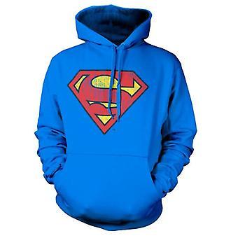 DC Comics Superman Washed Shield Bluza z kapturem