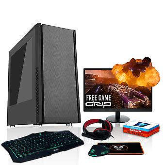 Féroce exil Gaming PC, Fast AMD FX-8350 4,2 GHz, 1 to HDD, 16 Go de RAM, GTX 1650 4GB