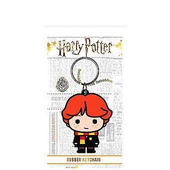 Harry Potter Ron Weasley Chibi Rubber Keyring