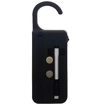 Moderne Home LED Light up deur hanger w/droog wissen marker