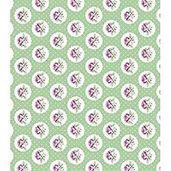 "Craft Consortium Decoupage Papers 13.75""X15.75"" 3/Pkg-Rose Polka"