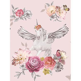 Fantasia Anastasia Unicorn Wallpaper Arthouse