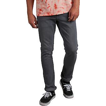 Volcom 2X4 Denim Skinny Fit Jeans in Grey Vintage