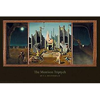 Poster - The Morrison Triptych by T.E. Breitenbach - Wall Art P8150