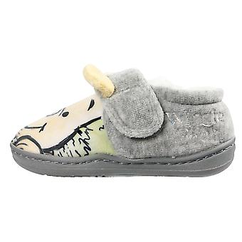 Winnie The Pooh Boys Mayon Low Top Slippers UK Sizes Child 5-10