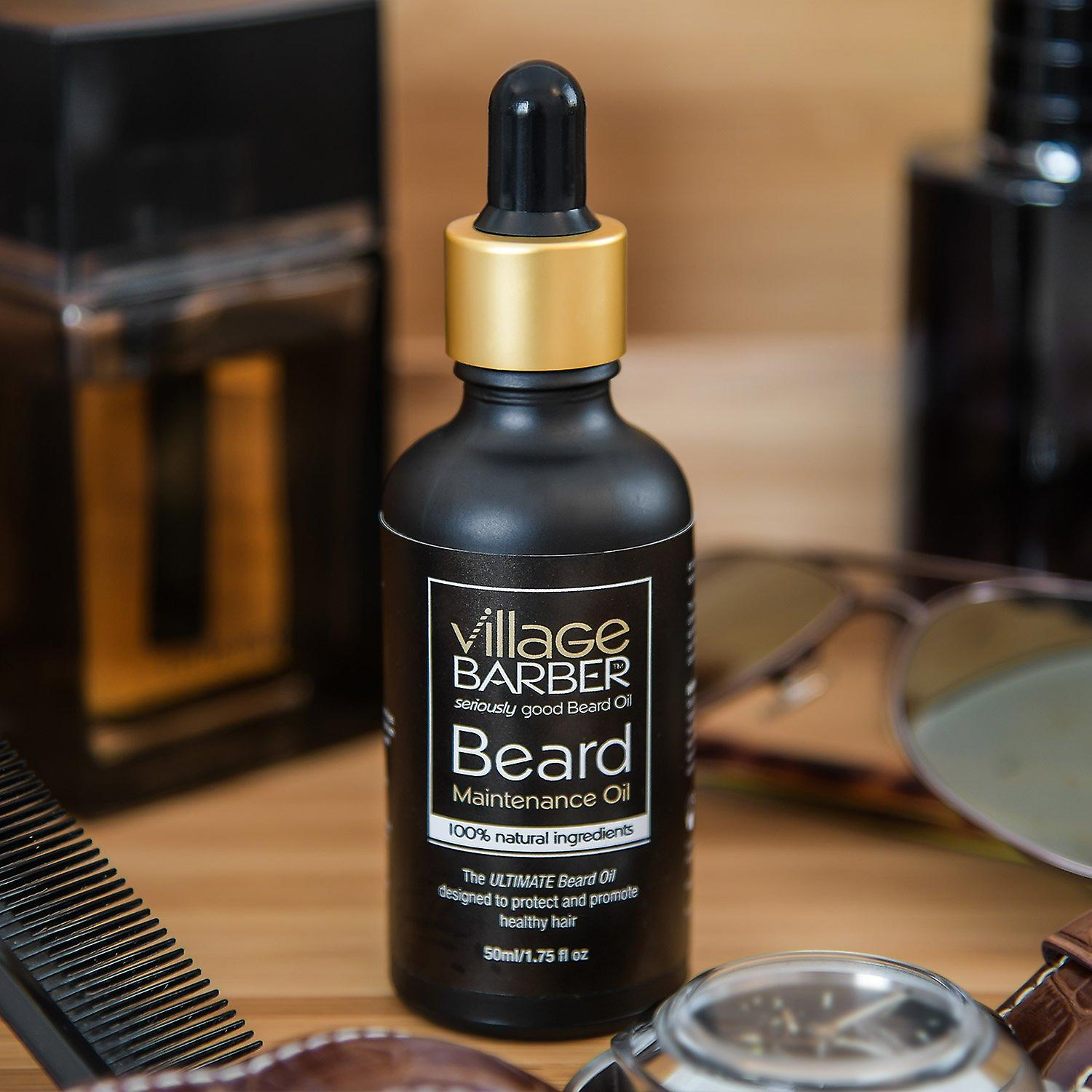 Beard maintenance oil