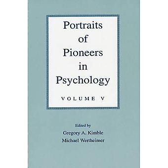 Porträtt av pionjärer inom psykologi, Vol. 5