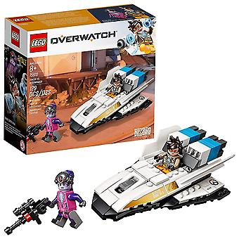 LEGO Overwatch-Tracer vs. Widowmaker