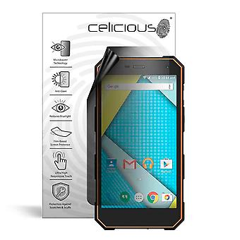 Celicious Privacy Lite 2-Way Anti-Glare Anti-Spy Filter Screen Protector Film Compatible with Plum Gator 5