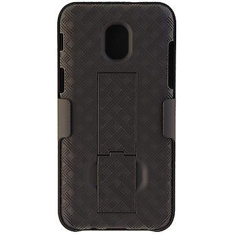 Verizon Shell Holster Combo pour Samsung Galaxy J3/J3V (3ème Gen) - Noir