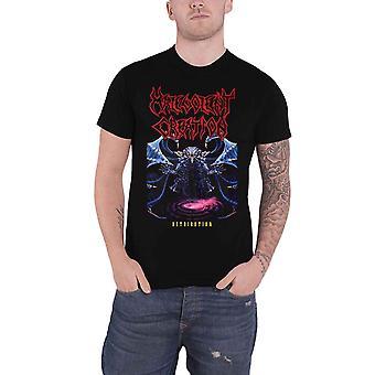 Malevolent Creation T Shirt Retribution Band Logo Metal new Official Mens Black