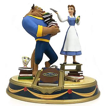 Beauty and the Beast Belle & Beast Finders Keypers Statue