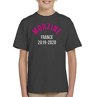Morzine France 2019 2020 Skiing Kid's T-Shirt