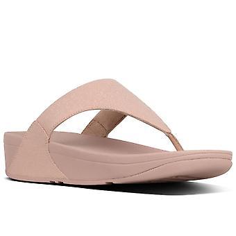 FitFlop™ Lulu Shimmer sandalias de punta de mujer