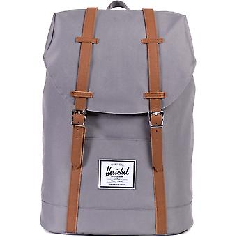 Herschel Supply Co Retreat Straps Backpack Rucksack Bag Grey 92