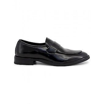 Duca di Morrone - Chaussures - Mocassins - ANDY-BLACK - Hommes - Schwartz - 45