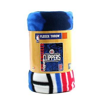 Los Angeles Clippers NBA Northwest Fleece Throw