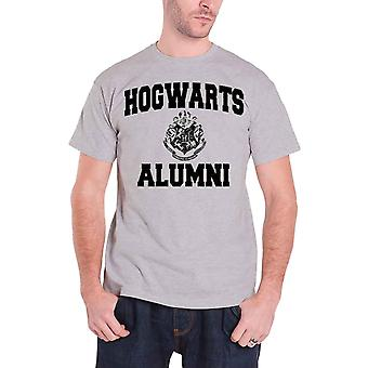 Harry Potter Hogwarts Alumni Official Mens New Grey T Shirt