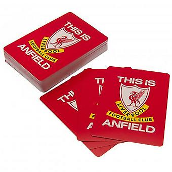 Liverpool FC This Is Anfield Playing Cards