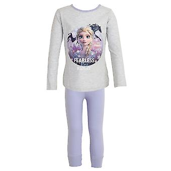 Frozen 2 Childrens/Girls Fearless By Nature Pyjama Set