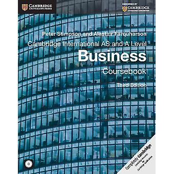 Cambridge International AS and A Level Business Coursebook w by Peter Stimpson