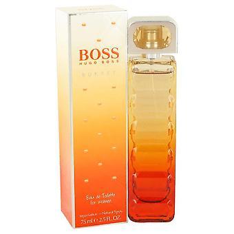 Boss oranssi auringonlasku eau de toilette spray hugo pomo 467977 75 ml