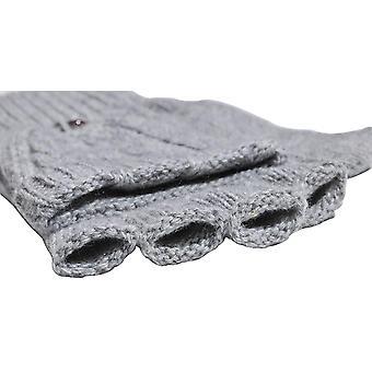 Beurlike Women's Winter Gloves Warm Wool Knitted, Gray, Size One Size