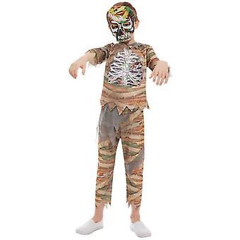 Zombie Mumie Kostüm Kindercreme