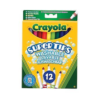 Crayola Supertips lavable punta de fieltro Juego de plumas