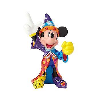 Disney by britto - sorcerer mickey mini figurine